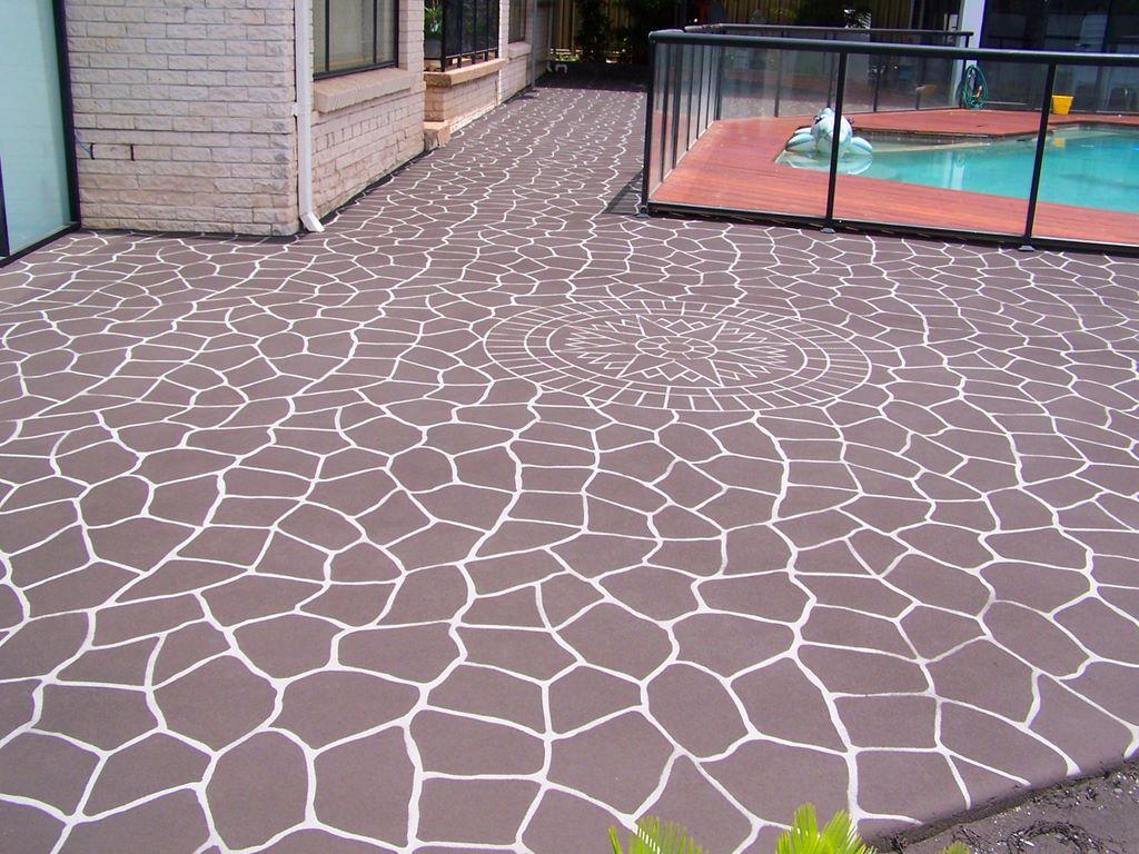concrete stenciling